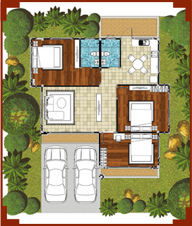 Proposal of Planning House with Green Area